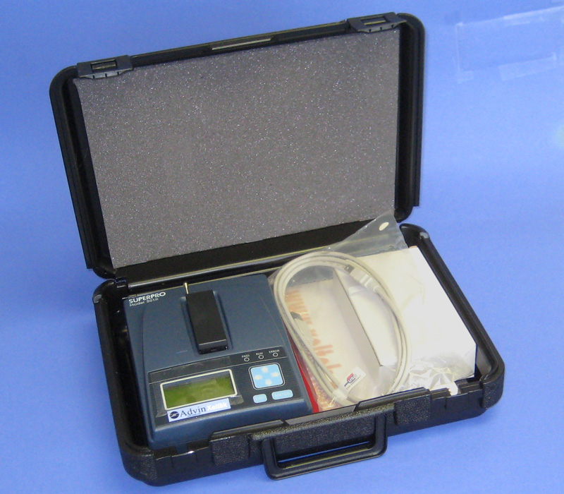 Flash Memory Programmer SuperPro-601S with carry case
